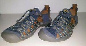 KEEN KUTA WALKING SANDALS WATER SHOE MEN'S US 12 , UK 11 , EU 46 , 30 CM BLUE