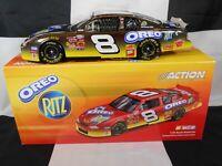 DALE EARNHARDT JR #8 18KT WHITE GOLD GM DEALERS OREO/RITZ 2003 NASCAR DIECAST