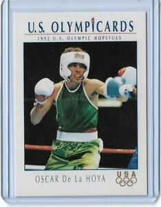 SWEET 1992 OLYMPIC OSCAR DE LA HOYA ROOKIE CARD #23 BOXING ~ MULTIPLES AVAILABLE