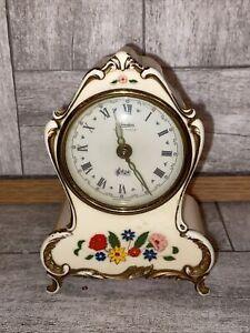 Vintage Reuge Swiss Musical Mvmt Alarm Clock Made in Germany