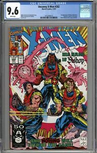 Uncanny X-Men #282 CGC 9.6 NM+ 1st Appearance of Bishop WHITE PAGES