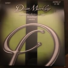 Dean Markley 2501 Signature Series NickelSteel Electric Guitar Strings Extra LT