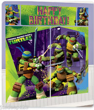 Teenage Mutant Ninja Turtles Happy Birthday Wall Scene Setter Party Decorations