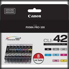 Canon CLI-42 8 Color Value Pack, Multi-Pack for Pixma Pro-100, New in Retail Box