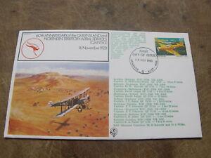 1980 Australia  Cover -Queensland & Northern Territory Aerial Service -QANTAS