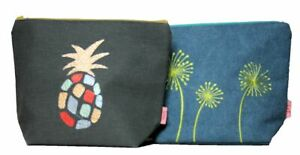 Lua Large Cotton Cosmetic Bag Various Designs