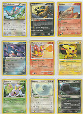 x9 Used Pokemon Card Rare Dark Dragonite Team Aqua's Kyogre Magmortar Blaziken