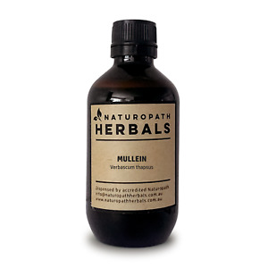 MULLEIN Tincture Liquid Extract ~ Naturopath Herbals ⭐⭐⭐⭐⭐