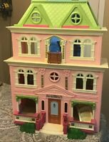 "Fisher Price Loving Family Dollhouse Doll House GRAND MANSION 28"" 2008"