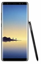 Samsung Galaxy Note 8 4G 64gb Sim-Unique Noir LTE ( 2 Ans de Garantie Inclus)