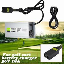 New 36V 18A Golf Cart Battery Charger For Ez Go Club Car Ezgo w/ Power Cord