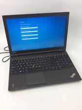 Lenovo Thinkpad T540p I5-4300M 2.6GHZ 8GB DDR3 240GB SSD Windows 10 HOME #U12422