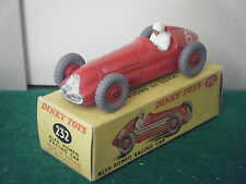 "Dinky No: 232 ""Alfa-Romeo Racing Car"" - (Red Plastic Hubs) (RARE)"