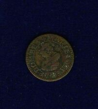FRANCE  DOMBES MARIE de MONTPENSIER  1621  DOUBLE TOURNOIS COIN, VF/XF