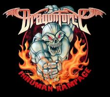 DRAGONFORCE cd lgo Inhuman Rampage ROBOT Official SHIRT LAST XL New oop
