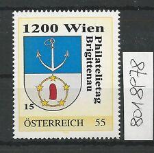 Österreich PM personalisierte Marke Philatelietag 1200 WIEN 8018978 **