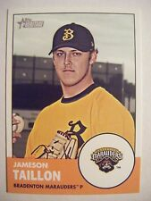 JAMESON TAILLON RC 2012 Topps Heritage Minors baseball card #19 QTY PIRATES 2011