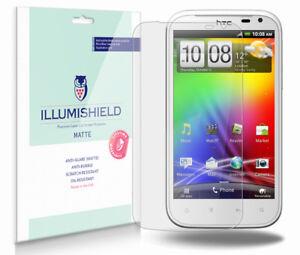 iLLumiShield Anti-Glare Matte Screen Protector 3x for HTC Sensation XL (X315E)