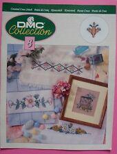 #) DMC COLLECTION 8 : 8 diagrammes point de croix  - 1995
