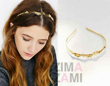 Nwt Free People Clusted Stars Headband Gold Layered
