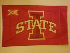 Rico Iowa State Cyclones NCAA 11X14 Window Mount 2-Sided Car Flag