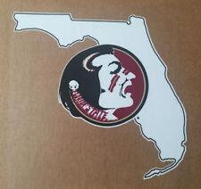 NCAA Florida State University FSU Seminoles PREMIUM VINYL AUTO DECAL college