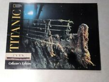"""Titanic"" National Geographic Society Collectors Edition"