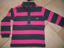 (H952) Little Marc Jacobs Boys Langarm Polo Shirt +Logo Druck & Stickerei gr.116