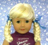Imsco GINNY Sunshine Full Cap Doll Wig Size 10-11, Looped Braids, Scandinavian