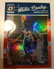 Mike Conley 2016-17 Donruss Optic RED HOLO PRIZM REFRACTOR #/99