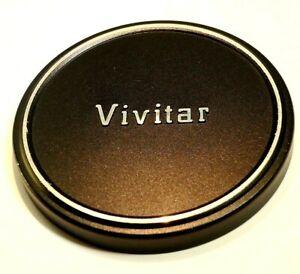 Vivitar 58mm Linse Vorne Kappe Für Plastik Slip On Typ Metall 28mm