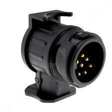 Car Trailer Truck Electric Towing Converter Towbar Adaptor Socket 13 to 7 Pin