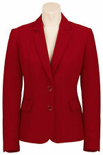Busy Burgundy Red Ladies Suit Jacket