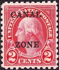 Canal Zone - 1926 - 2 Cents Carmine Washington Perf 10 Overprinted Issue 97 Mint