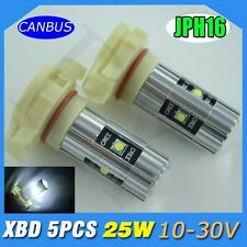 2x CANBUS H16 25W CREE LED Projector Bulbs WHITE TOYOTA 86 COROLLA FOG LIGHT DRL