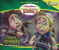 NEW A Time of Discovery #18 Adventures in Odyssey 4 Audio CD Vol Set