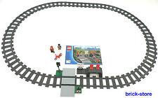LEGO ® ferrovia (60051) guide cerchio con stazione ferroviaria 16 x gebogne 4 x appena