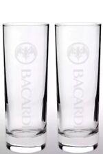 Bacardi Tall Glass X 2