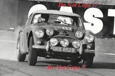 DONALD & Earle Morley Austin Healey 3000 RAC Rally 1965 fotografia 1