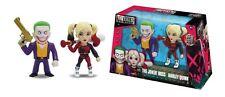 Harley Quinn & Joker Suicide Squad Metals Die Cast Action Figure 10cm Jada Toys