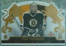 Tim Thomas 2002-03 Crown Royale Rookie RC #104 /2299 Boston Bruins
