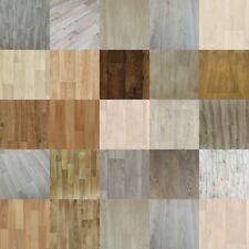 Wood Plank Vinyl Lino Flooring Roll Bathroom Kitchen Wide 3m