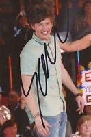 BIG BROTHER: SAM EVANS SIGNED 6x4 ACTION PHOTO+COA