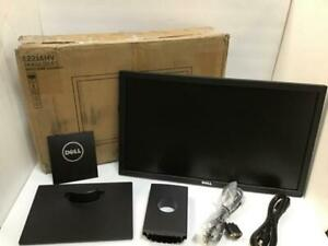 "Dell 21.5"" Monitor Widescreen LED Full HD VGA Professional Display E2216HV USED"