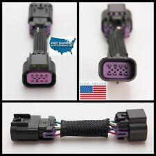 Daytime Running Light Fog Light Plug Adapter Harness For Chevrolet Camaro 10-15
