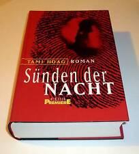 Tami Hoag: Sünden der Nacht. Gebunden mit Schutzumschlag, neuwertiger Zustand!