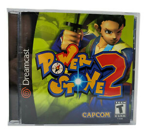 Power Stone 2 Dreamcast Case & Manual Only No Disc Original Not Reproduction