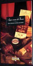 Montreal Forum  Original 1996 Auction Book - Montreal Canadiens - Mint