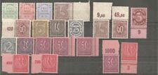 Deutsches Reich Dienst vanaf  3 ongebruikt/postfris  c.w.  €  19,10
