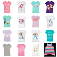 NWT Lot of 2 Girls Children's Place Graphic Glitter Tees or Tanks Shirts 10-16